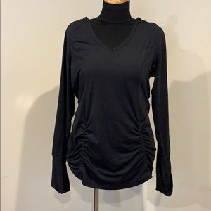 Zella workout hooded top